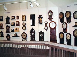 Macdonald Museum clock collection